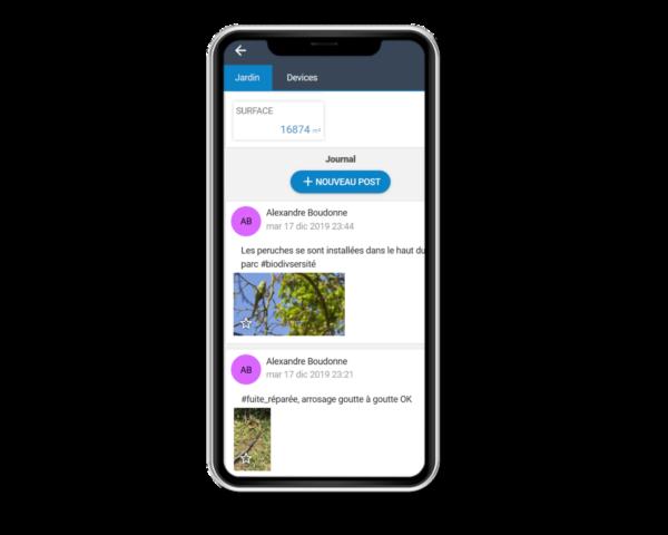 Arrosage intelligent application mobile